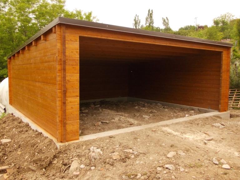Garage - Garage in legno ...