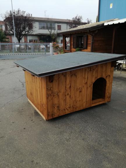 cuccia tetto amovibile
