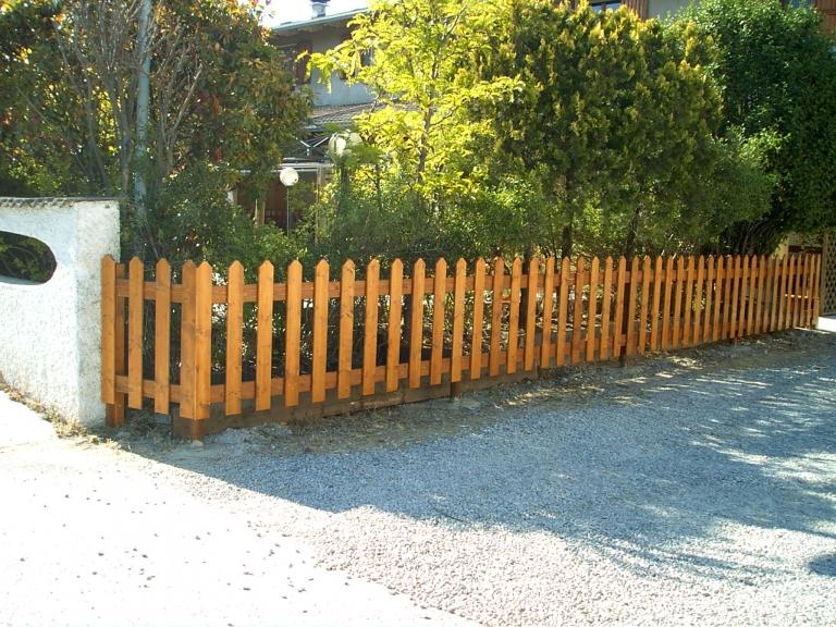 steccato in abete