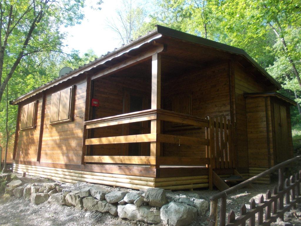 chalet in legno di abete